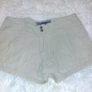 ANCHOR BLUE corduroy tan khaki shorts